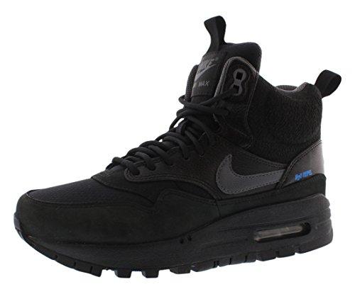 Schwarz Nike Wmns Air Max 1 Mid Sneakerboot