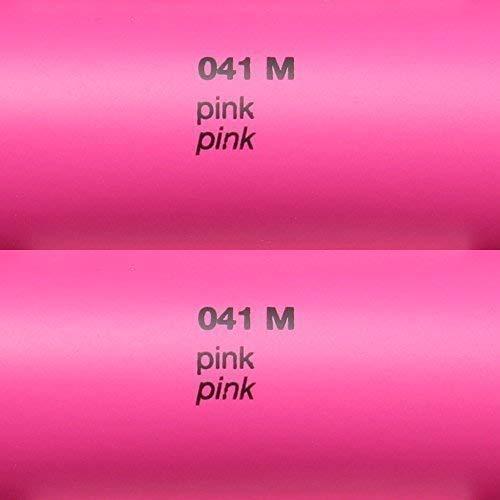 Unbekannt 5,39€/m² Rapid Teck Matt Folie - 041 Pink - Klebefolie - 5m x 63cm - Folie Matt Plotterfolie - Klebefolie selbstklebend - auch...