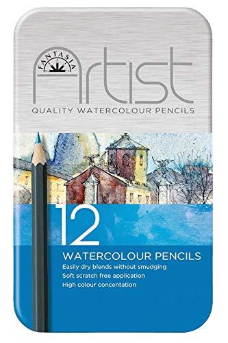 Fantasia Premium Watercolor Pencils, Set of 12
