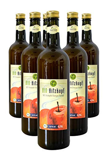Bio Hitzkopf Bratapfel-Orangen Punsch 5,4% vol (6x0.75l)