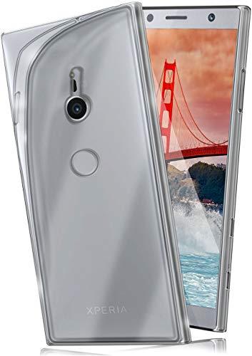 moex Aero Case kompatibel mit Sony Xperia XZ2 - Hülle aus Silikon, komplett transparent, Klarsicht Handy Schutzhülle Ultra dünn, Handyhülle durchsichtig einfarbig, Klar