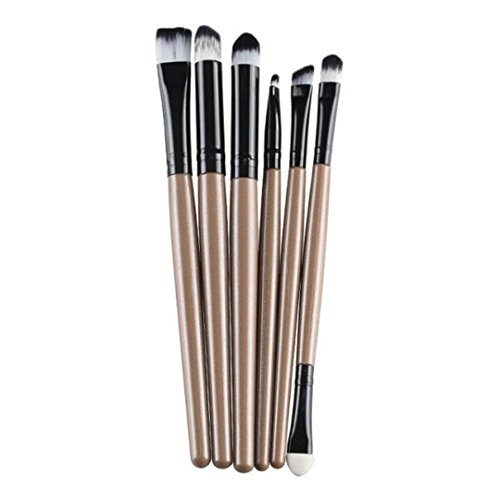 Make Up Brushes  Italily 6 PCS trucco cosmetico-oro