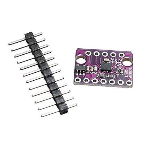 Sensor DDRZD y detectormodule GY-LSM6DS3 1.71-5V 3 Axis Acelerómetro de 3 ejes Sensor giroscopio de 3 ejes Tablero de extracción inercial del eje Módulo de inclinación del ángulo de inclinación Sensor