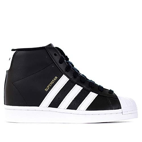 adidas Superstar UP W, Zapatillas Deportivas Mujer, Core Black FTWR White Gold Met, 41 1/3 EU