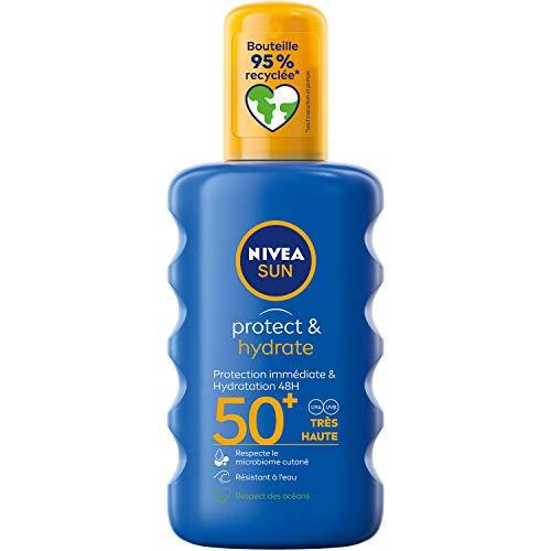 Nivea Sun Spray Protecteur Protect et Hydrate FPS50+ 200 ml
