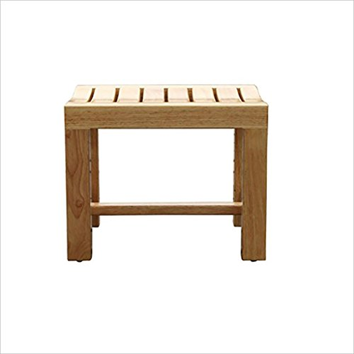 MSF Table Pliante Tabouret de Douche/Tabouret de Baignoire Tabouret de siège de Douche en Bois Enceinte/Seniors/Tabouret en Bois pour Le Bain (Taille : A)