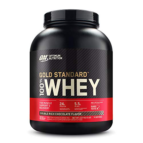 Gold Standard 100% ホエイ プロテイン ダブルリッチチョコレート 2.27kg (5lbs) [米国メーカー正規品] [海...