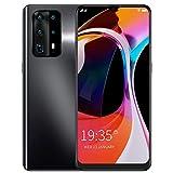 PUSOKEI Smartphone Desbloqueado, teléfonos móviles Android 1 + 16GB, teléfonos 3G Dual SIM, Pantalla de Gota de Agua HD de 6.3in, cámara de 2MP + 5MP, Micro-USB 2.0, batería de 3200mAh,(Negro)