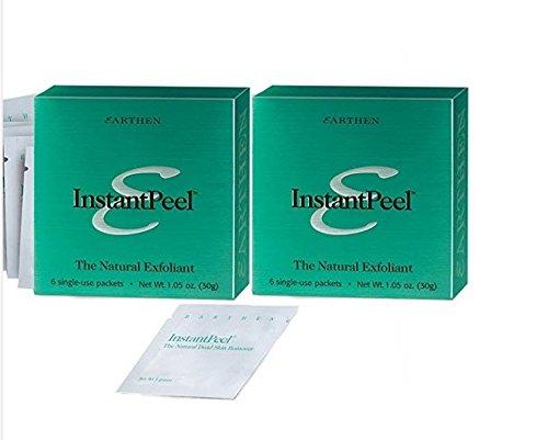 Earthen Instant Peel Natural Dead Skin Remover - 2 Pack