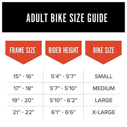 Product Image 11: Schwinn S29 Mens Mountain Bike, 29-Inch Wheels, 18-Inch/Medium Aluminum Frame, Dual-Suspension, Mechanical Disc Brakes, Matte Black