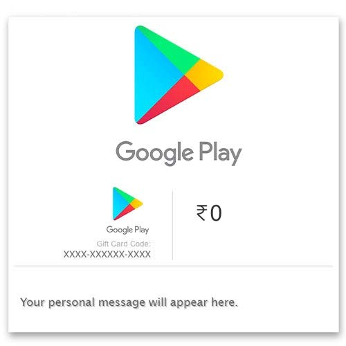 Google Play Gift Code - Digital Voucher