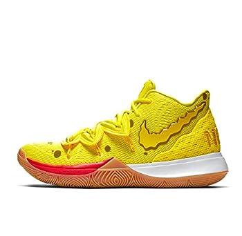Nike Kyrie 5 GS SBSP Spongebob Size 4Y Yellow