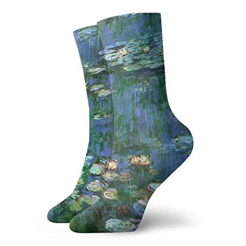 lkjhg478 Lilies Claude Monet Water Lilies Casual Fashion