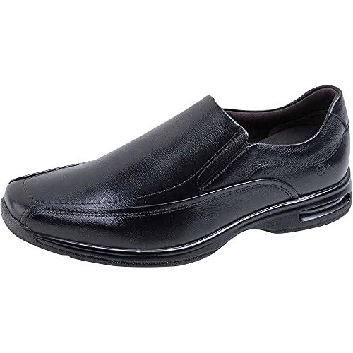 Sapato Social Democrata Smart Comfort Air Spot Masculino - Preto - 37
