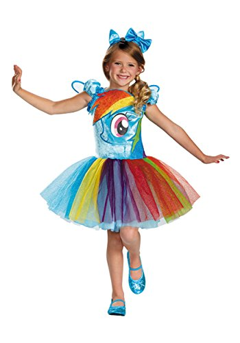 Rainbow Dash Tutu Prestige Costume 3T/4T