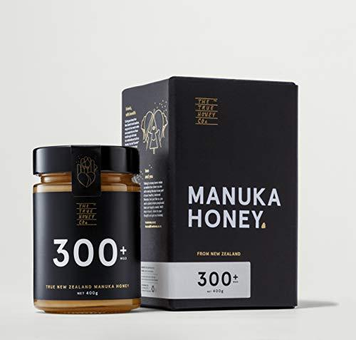 The True Honey Miel de Manuka | Extremadamente rara y altamente efectiva | MGO 300+ | UMF 11+ | 400g