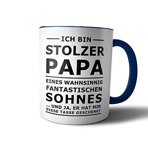 creativgravur® Tasse mit Spruch STOLZER PAPA, STOLZE MAMA Kaffeetasse Kaffeebecher Kaffeepot Frühstückstasse Bürotasse, Motiv:Motiv 08