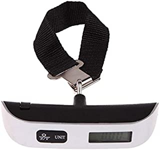Scale Multipurpose 50kg*10g Electronic Scales Household Portable Weight Digital Scale for Suitcase Travel Bag Temperature ...