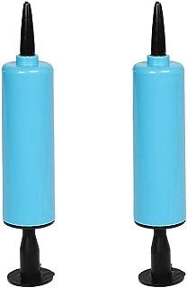 LIOOBO 2 st ballongpump handhållen luftpump manuell uppblåsningspump ballongfläkt för ballonger träningsbollar yoga bollar...