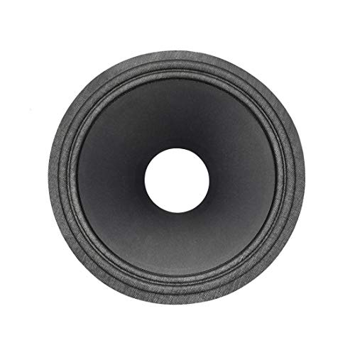 Lowest Price! uxcell 10 inches Paper Speaker Cone Subwoofer Drum Paper 2.5 inches Coil Diameter with...