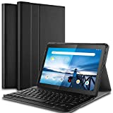 IVSO Case with Keyboard for Lenovo TAB M10 Tablet, Wireless Keyboard Front Prop