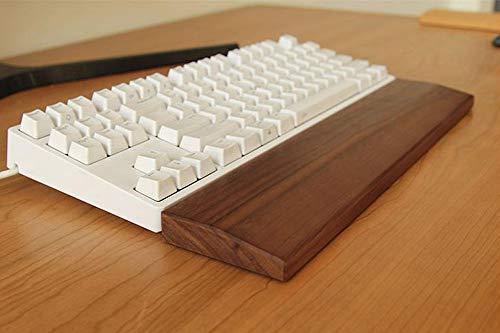 Premium solide Holz-Handballenauflage für Maus und Tastatur, Anti-Müdigkeits-Handflächenhalter, Handgelenkstütze für Büro und Zuhause, bequeme Handballenauflage