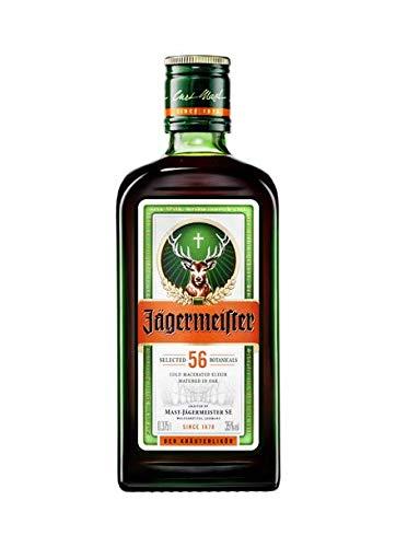 Jagermeister bouteilles de 35 cl de cristal 35% alcool