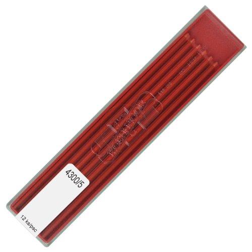 KOH-I-NOOR fallminen Diámetro 2mm Rojo 12unidades minas de colores