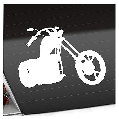 Kiwistar Chopper - Motorrad - Bike Aufkleber Sticker 25 Farben Neon Matt