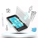 FengJ Multifunktionale UV Smartphone Sanitizer, Masken UV-Licht Desinfektor Tragbare Reiniger Aromatherapie für Telefone Geschirr Make-up Pinsel Zahnbürste Unterwäsche Schmuck