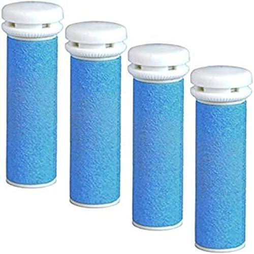Emjoi Mineral Ersatzrollen grob für Micro-Pedi, 4er Pack, blau