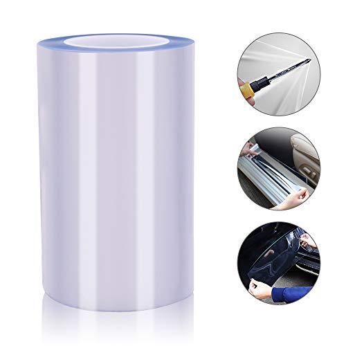 Chingde Auto Schutzfolie, 30x300CM Selbstklebende Schutzfolie Auto Lackschutzfolie Transparent Auto Kratzschutz Folie für Als Auto, Fahrrad, Motorrad