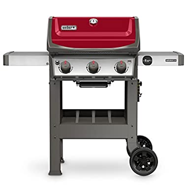Weber 45030001 Spirit II E-310 Red LP Outdoor Gas Grill