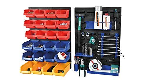 Brüder Mannesmann Werkzeuge M41555 Juego de herramientas de 43 piezas