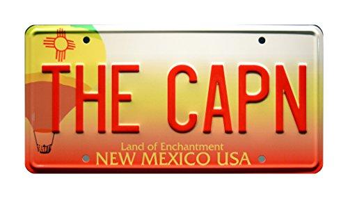 Breaking Bad | THE CAPN | Metal Stamped License Plate