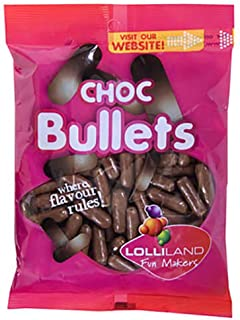 Lolliland Fun Makers Bullets Chocolate, 180 g