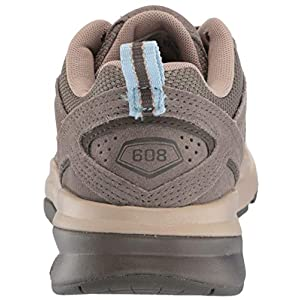 New Balance Women's 608 V5 Casual Comfort Cross Trainer, Bungee/Burlap, 8 M US