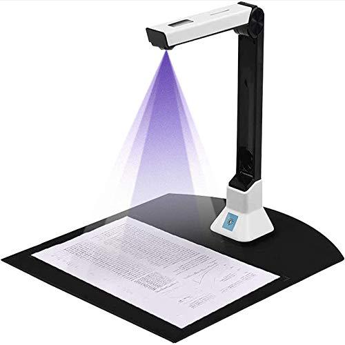 Dokumentenkamera Für Lehrer Zu Hause, Dokumentenscanner-Kamera, Dokumentenkamera USB Größe A4 Für Home Office Online-Unterricht