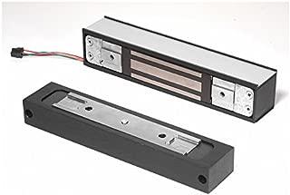 Schlage Electronics GF3000TJ Top-Jamb Surface-Mounted Shear Electromagnetic Lock, Single Inswinging Door, Horizontal Mount, 3,000 lb. Holding Force, Satin Aluminum Finish