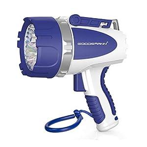 GOODSMANN Submersible LED Spotlight Powerful 3000 Lumen