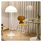 LDH Seta Blanca de Pie Luminarias Lámparas de Pie de La Sala de Estar de Pie Moderna Lámpara Dormitorio Soporte de Luz Art Deco Lámparas E27