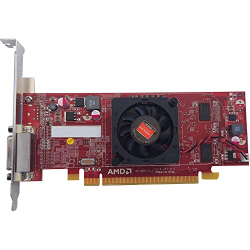 REO AMD Radeon HD 7300 1GB DDR3 64 bit PCIe x16 Graphics Card with Dual Display(Can Connect Two Screens with This Graphics Card)