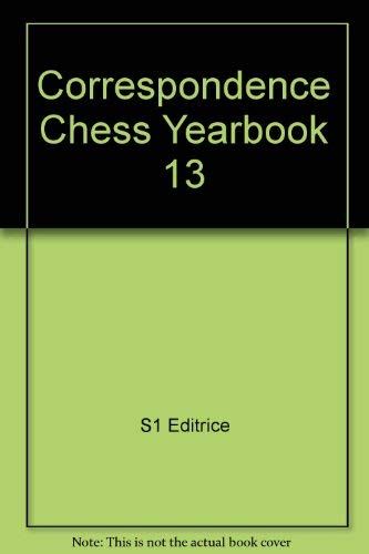 Correspondence Chess Yearbook 13 - 2 Theoretical Articles: French Defence, English Opening (Buch + 2 Disketten)