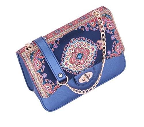 Bolso de mano con bordado de estilo vintage de mediados de siglo...