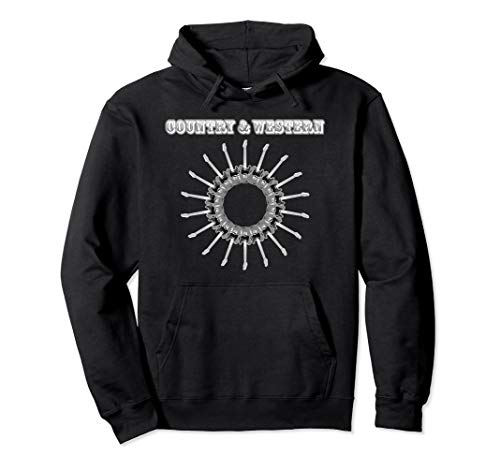 Country & Western Musik Gitarre Nashville Tennessee USA Cool Pullover Hoodie