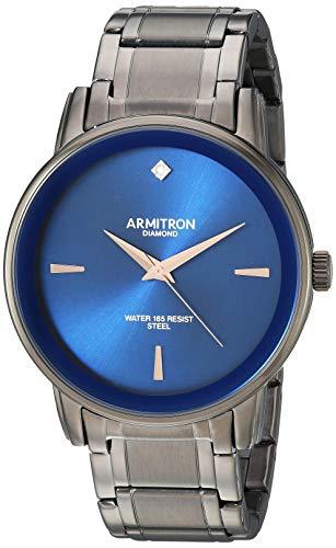 Reloj Armitron Silver Colection para Hombres 41mm, pulsera de Acero Inoxidable