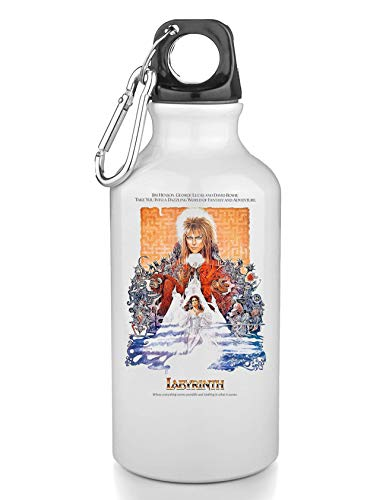 KRISSY Labyrinth Cult Movie Retro Bouteille INOX Gourde Sport Camping Tourist Water Bottle