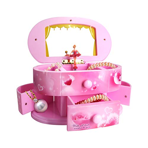 Qulable Musical Jewelry Box,Girl