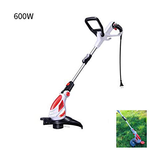 Great Features Of Plug-in Small Lawn Trimmer, Handheld Electric Lawn Edger Cordless String Trimmer G...
