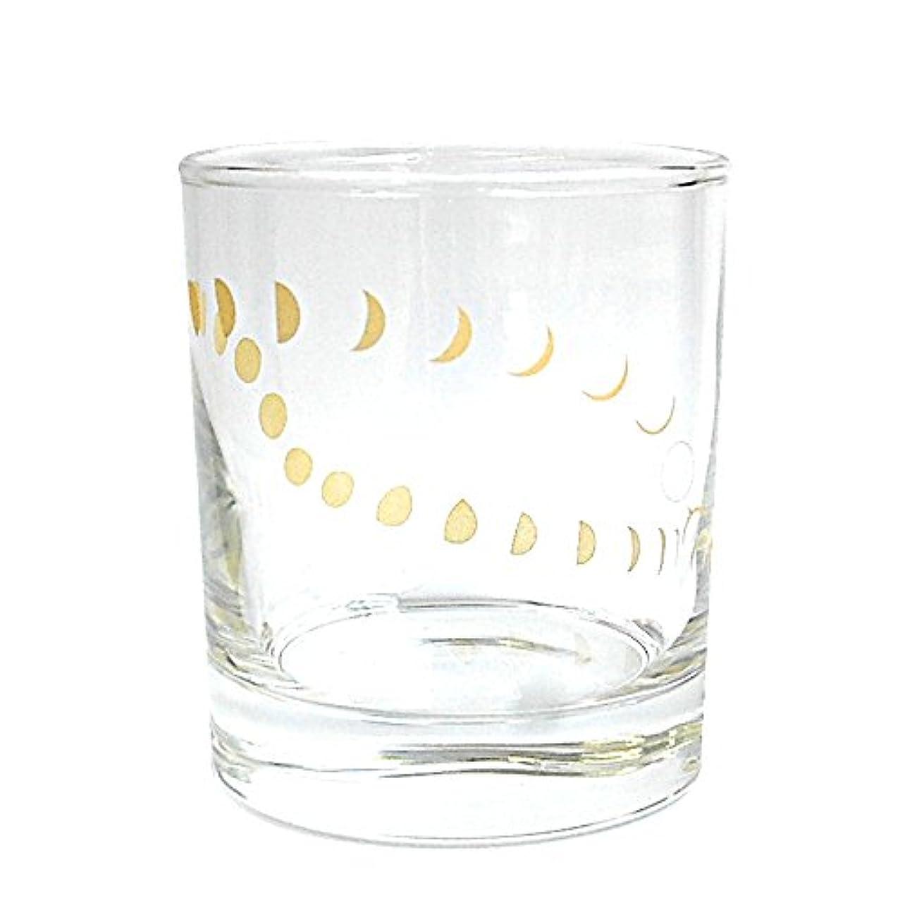 伝染性の薄い苦しめる南海通商 ムーンフェーズグラス GD サイズ:約φ8 H9.3 0548-007